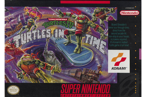Teenage Mutant Ninja Turtles: Turtles in Time | TMNTPedia ...