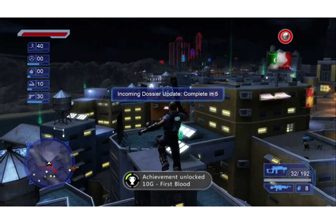 Crackdown Gameplay [Xbox 360] - YouTube