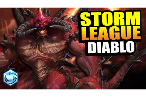 Diablo - TOP level game! // Storm League - Master - YouTube