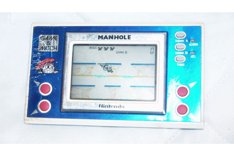 Manhole Nintendo Game & Watch - Catawiki