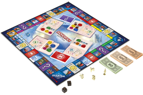 Monopoly Here and Now World Edition SK - Board Game ...