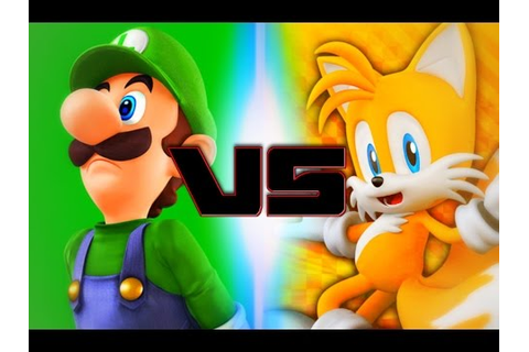 Luigi Vs Tails (Rap Battle Of Video Games All-Stars ...