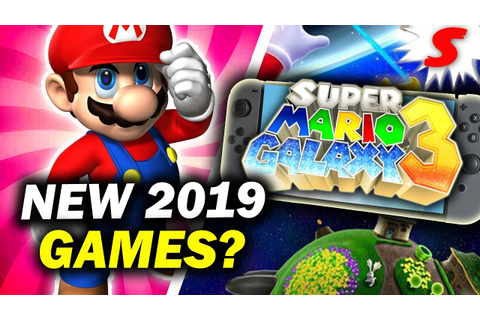What NEW Mario Games Will Release in 2019? - Siiroth - YouTube