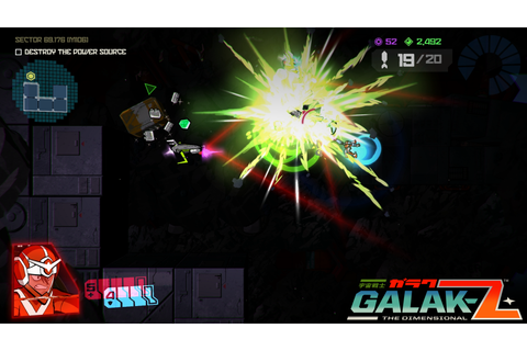 Galak-Z: The Dimensional Review: Nostalgia of Fun Times ...