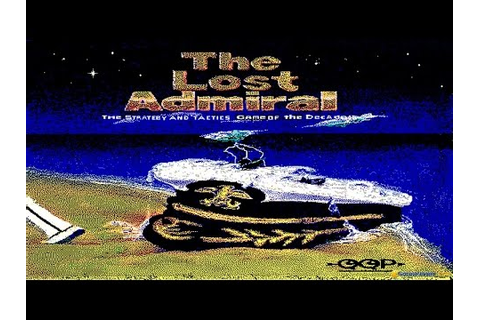Lost Admiral, The gameplay (PC Game, 1991) - YouTube