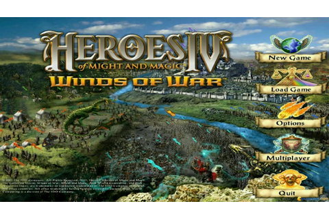 Heroes of Might and Magic 4 gameplay (PC Game, 2002) - YouTube