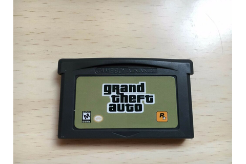 grand theft auto for Nintendo Game Boy Advance GBA SP ...