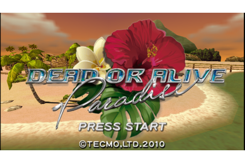 Dead or Alive Paradise (USA) PSP ISO Free Download - Free ...