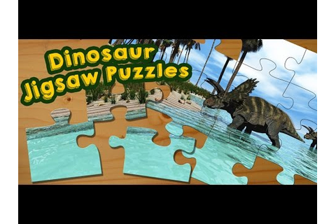 Dinosaur Jigsaw Puzzles Game for Kids - App Gameplay Video ...
