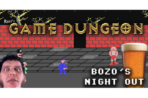 ROSS'S GAME DUNGEON: BOZO'S NIGHT OUT - Ross's Game ...