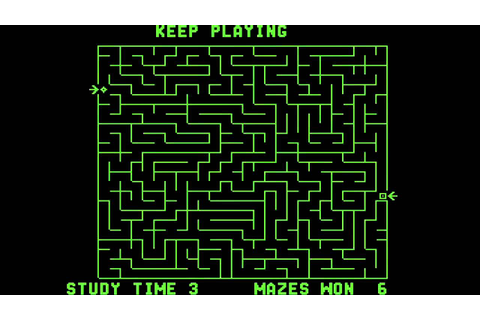 The Amazing Maze - (1976) - Arcade - gameplay HD - YouTube
