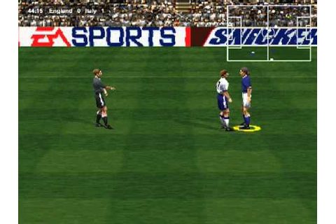 FIFA 98 PC Gameplay - YouTube