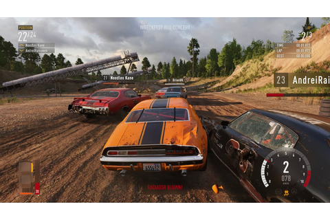WRECKFEST - EXCLUSIVE GAMEPLAY | PS4, XBOX ONE - YouTube