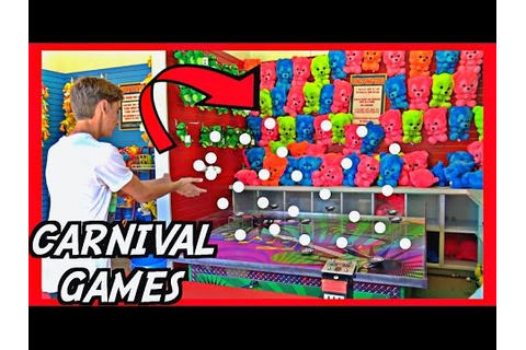 ★Carnival Games! The Best Strategies To Win!! Carnival ...