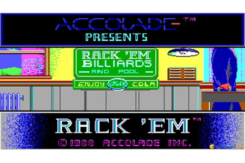 Rack 'em gameplay (PC Game, 1988) - YouTube