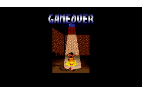 Speedy Gonzales - Los Gatos Bandidos Game Over Screen ...