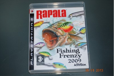 Rapala Fishing Frenzy 2009 PS3 Playstation 3 **FREE UK ...