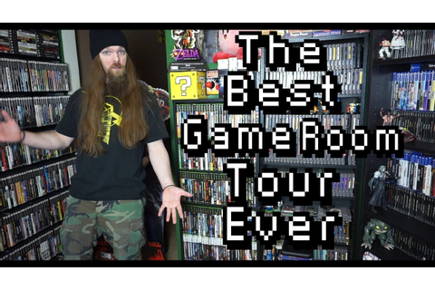 The Best Game Room Tour Ever - 2000+ Video Game Collection ...
