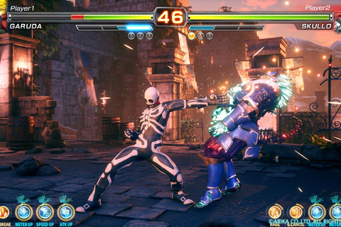 Arika's 'mysterious fighting game' has a title and a beta ...