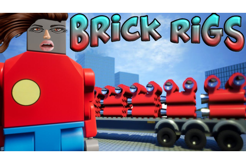 Brick Rigs Game | GAS CANISTERS VS THE CITY & USER ...