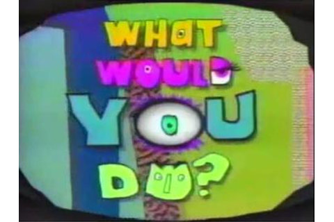 What Would You Do? (game show) - Wikipedia