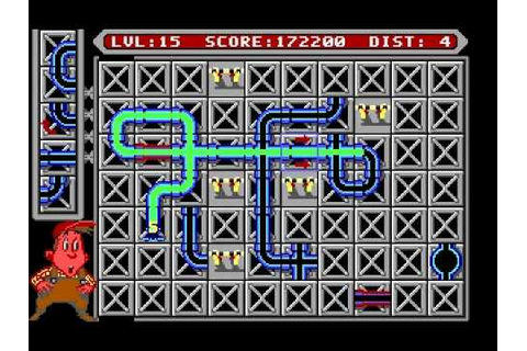 Pipe Mania (MS-DOS) - Gameplay - YouTube