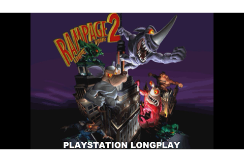 Rampage 2: Universal Tour | Playstation Longplay - YouTube