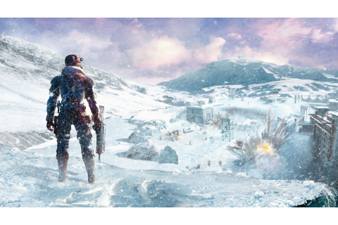 Lost Planet, Video Games, Concept Art, Snow, Winter ...