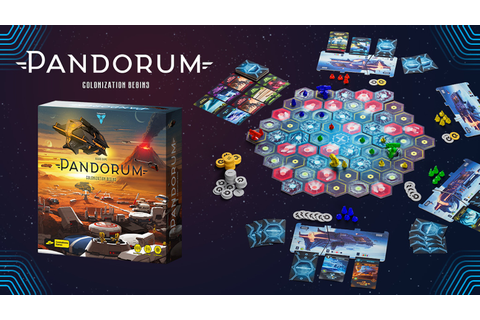 Pandorum — The Board Game by Cosmodrome Games —Kickstarter