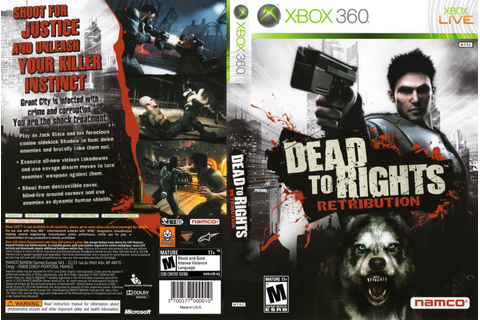 Games Covers: Dead to Rights Retribution - Xbox 360