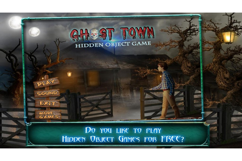 Ghost Town Hidden Object Games | Download APK for Android ...
