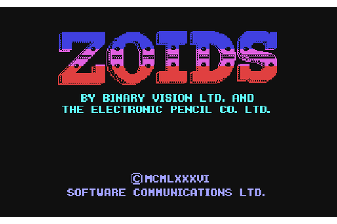 Zoids: The Battle Begins (1986) by Binary Vision ...