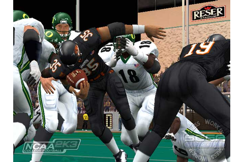 NCAA College Football 2K3