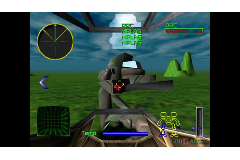 MechWarrior 2: 31st Century Combat - Gameplay PSX (PS One ...