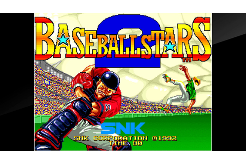 Baseball Stars 2 AST - Complete Neo Geo CD soundtrack ...