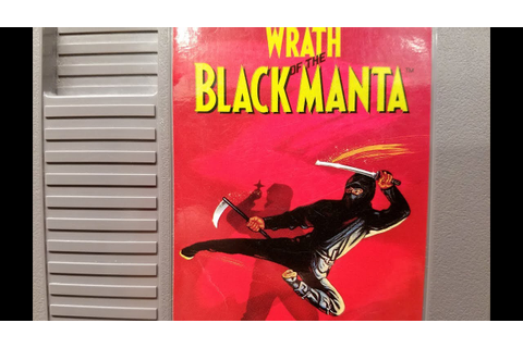 Classic Game Room - WRATH OF THE BLACK MANTA review for ...