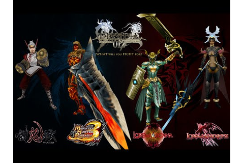 Models from Hack'n Slash psp games into Dissidia Duodecim ...