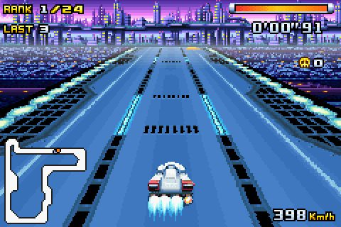 F-Zero Climax (2004) by Nintendo GBA game
