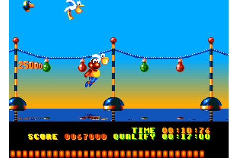 Dazeland : Jeux Amiga : The Aquatic Games