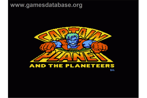 Captain Planet and the Planeteers - Nintendo NES - Games ...