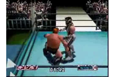 Virtual Pro Wrestling 2 Gameplay Video 2 - YouTube