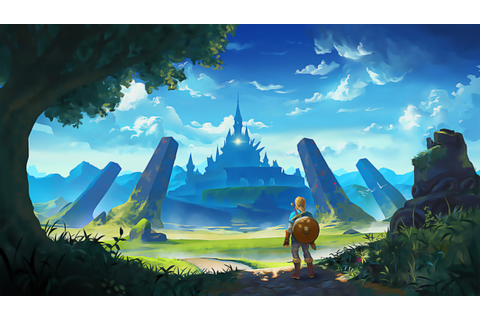 The Legend of Zelda Breath of the Wild Wallpapers ·① ...