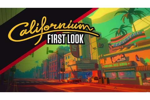 Californium: trippy first person exploration game - YouTube