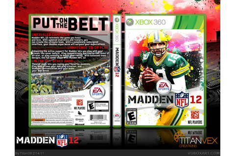 Games Mania: Madden NFL 12