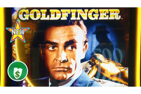 ⭐️ New - James Bond - Goldfinger slot machine, bonus - YouTube