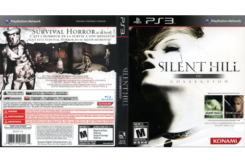 BLUS30810 - Silent Hill: HD Collection