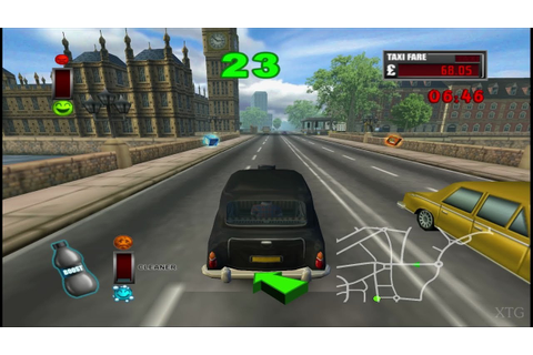 London Taxi: Rushour PS2 Gameplay HD (PCSX2) - YouTube