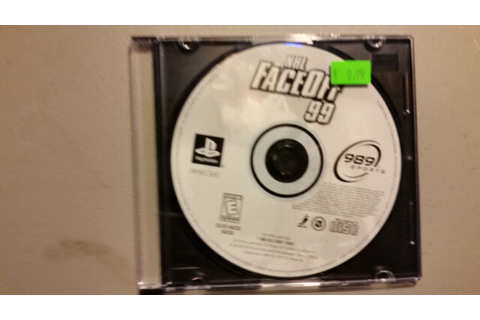 Nhl Faceoff 99 - PS1 PS2 Playstation Game | eBay