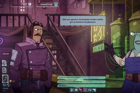Griftlands, a new role-playing game from Klei ...