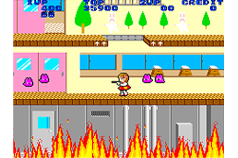 Momoko 120% - Mamepedia - all mame emulator games